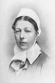 Isabella Gilmore - commemorated in the Anglican calendar of saints on 16th April. She revived the female diaconate in the Church of England. Bit of a heroine!