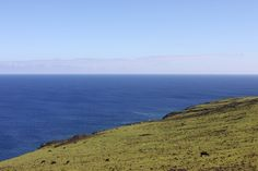 Hiking On Easter Island