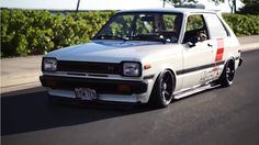 Happiness Is Found In A 1981 Toyota Starlet - The Drive Toyota Starlet, Europe Car, Kei Car, Honda Civic Sedan, Nissan 240sx, Trd, Rally Car, Jdm Cars, Toyota Corolla