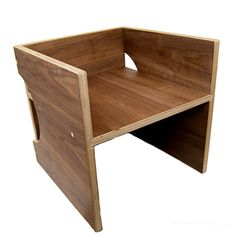 Birch Plywood Cube Chair | Daily Deals For Moms, Babies And Kids | Ply |  Pinterest | Plywood, Birch And Cube
