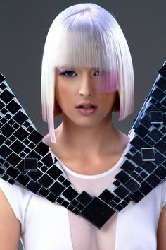 Wella Trend Vision 2012 Celeste Hair- Alisha Basham Photographer- Bob Williams Model- Grace Carroll-Anderson Makeup- Whitney Griffin