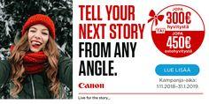 Canon XF400 -videokamera – Ammattikäyttöön – Digivideokamerat – Kamerat – Verkkokauppa.com Canon, Told You So, Movie Posters, Cannon, Film Poster, Popcorn Posters, Film Posters, Posters