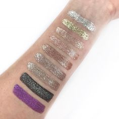 Stila Magnificent Metals Glitter & Glow Liquid Eye Shadow + Swatches