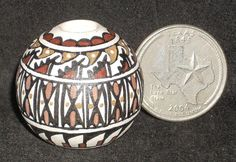 Miniature Southwest Native American Indian Gloria Bogulas Pot 1:12 #GloriaBogulas
