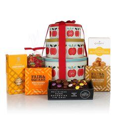 TIN OF TREATS Luxury Gift Hamper | MOTHER'S DAY | MUM | MOTHER | HAMPER | SWEET TREATS | CHOCOLATE | BISCUITS | FUDGE
