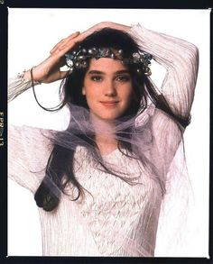 Sarah Williams (Jennifer Connelly) in Labyrinth Jennifer Connelly Labyrinth, Jennifer Connelly Young, David Bowie Labyrinth, Labyrinth Movie, Labyrinth 1986, Sarah Labyrinth, Jim Henson, Jennifer Connoly, Requiem For A Dream