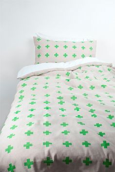 When I am over spots and triangles - this is next Fynn Single Quilt Cover