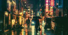 Masashi Wakui : ses photos nocturnes de Tokyo