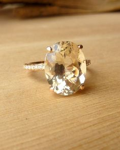 Oregon Sunstone and Diamond Ring. Have you ever heard of ...