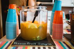 Passion Fruit Sangria Recipe. The perfect party punch!!!