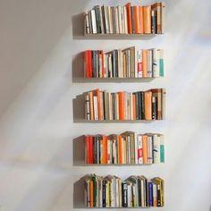 decovry.com - Teebooks | Modulaire Onzichtbare Wandplanken