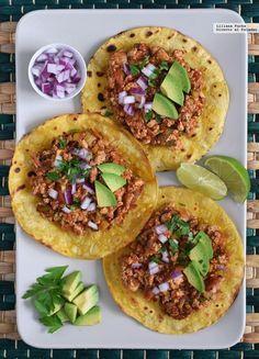 67 receitas veganas para comemorar o Dia Mundial do Vegano, Vegan Mexican Recipes, Veggie Recipes, Real Food Recipes, Cooking Recipes, Yummy Food, Vegan Vegetarian, Vegetarian Recipes, Healthy Recipes, Salade Healthy