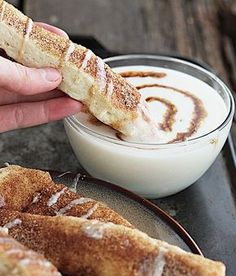 Cinnamon Roll Dippers