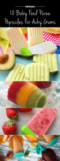 Check out these ten unique baby food popsicle recipes you can make with your own baby purees. From sweet creamed corn to strawberry banana yogurt, these pops are sure to please year round