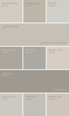 11 most amazing best gray paint colors Sherwin Williams. 11 most amazing best gray paint colors Sherwin Williams. Farmhouse Paint Colors, Exterior Paint Colors, Paint Colors For Home, House Colors, Paint Colours, Wall Painting Colors, Lowes Paint Colors, Gray Exterior, Painting Doors