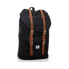 Herschel Little America backpack ($78) ❤ liked on Polyvore featuring bags, backpacks, strap backpack, drawstring bag, canvas drawstring backpack, padded laptop backpack and draw string backpack
