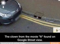 Stephen King Links, Stephen King News, Stephen King Articles, Stephen King Interviews, and discussion of the novels from Carrie and Under the Dome to Finders Keepers Creepy Google Maps, Movie Memes, Funny Memes, Hilarious, Epic Fail Pictures, Funny Pictures, Google Earth Funny, Paranormal, Maps Street