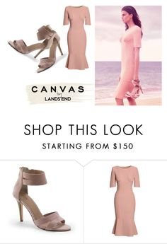 """""""Paint Your Look With Canvas by Lands' End: Contest Entry"""" by dope-diamond ❤ liked on Polyvore featuring Lands' End and Canvas by Lands' End"""