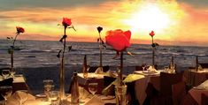 romantic dinner on the beach - Recherche Google