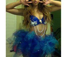 Mermaid costume for Escape