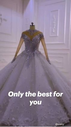 Fancy Wedding Dresses, Pretty Quinceanera Dresses, Wedding Dress Organza, Sweet 16 Dresses, Affordable Wedding Dresses, Beautiful Prom Dresses, Gorgeous Wedding Dress, Princess Wedding Dresses, Long Sleeve Quinceanera Dresses