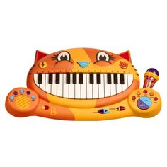 """I bought this keyboard for my nephew. It's my favorite of the toys I've bought for him. The """"meow"""" tone is my favorite."""