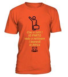 # Ciao a tutti IO PARTO Africa .  Le magliette CIAO IO PARTO! by K Around The World sono simpatiche maglietre dedicate a chi almeno una volta nella vita ha pensato di mollare tutto e partire !
