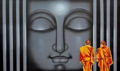 Buy Paintings Online by Artist pradeesh k - divine light - CE102754