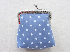 Sewing a Charming Mini Purse with a Clasp. DIY Pattern & Tutorial.