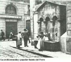 Fuente del perro, Casco Viejo de Bilbao.