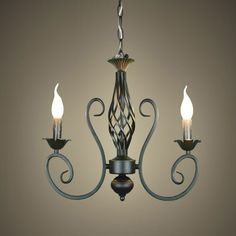 Wrought Iron Chandelier Decor Ideas — Brand Resort Home Ideas Large Rustic Chandeliers, Rustic Chandelier Lighting, Wrought Iron Chandeliers, Black Iron Chandelier, Black Candelabra, Wall Lights, Ceiling Lights, Ceiling Medallions, Candle Sconces