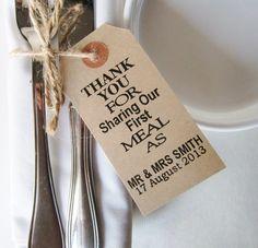 60 Wedding Napkin Holders-Rustic Wedding Table door IzzyandLoll