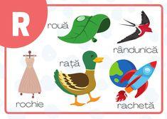 Litere Limba Română – GOGU Speech Language Therapy, Speech And Language, Grammar, Learning, Diy, Games, Bricolage, Studying, Languages