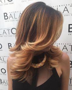 Pin on Beautiful hair Medium Hair Cuts, Medium Hair Styles, Long Hair Styles, Beautiful Red Hair, Hair Shades, Cool Hair Color, About Hair, Hair Dos, Balayage Hair