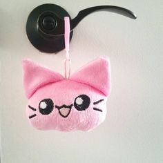 Hey, I found this really awesome Etsy listing at https://www.etsy.com/listing/269446419/neko-chan-plushie-keychain