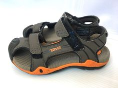 8a42bba38cca Details about Teva Toachi Toddler Boys Size 10 Runners Water Sandal Hike  Walk Summer Shoes