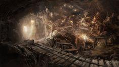 Znalezione obrazy dla zapytania fantasy mine