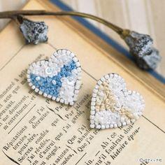 オートクチュールビーズ刺しゅう「プチハートのタックピン」の作り方|ぬくもり Crochet Earrings, Jewelry, Jewlery, Jewerly, Schmuck, Jewels, Jewelery, Fine Jewelry, Jewel