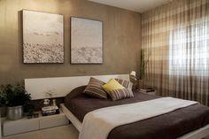 Apartamento Vila Olímpia : Quartos ecléticos por Helô Marques Associados