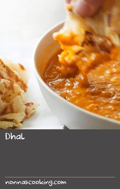 Dhal   This vegetarian recipe features toor dal (yellow lentils), tomatoes, Malaysian meat curry powder and sambal oelek, a spicy paste made from chilli, shrimp paste and lemon juice. Serve your dhal with a stack of flaky roti canai for delicious Malaysian feast.