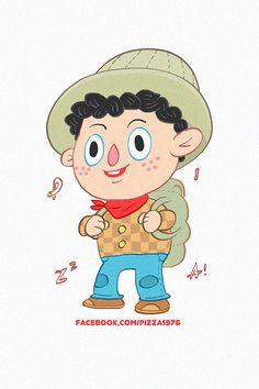 https://www.behance.net/pizzart cap travel kid boy bag water red walk love