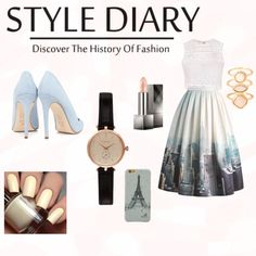 Style diary by giuliamulonia on Polyvore featuring polyvore, fashion, style, Ally Fashion, Chicwish, Dee Keller, Barbour, Monsoon and Burberry
