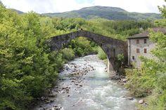 Twitter / ERTourism: old Roman bridge of Lugagnano, #Apeninnes of #Parma