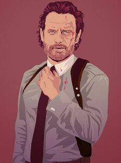 Rick art #TWD