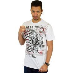 T-shirt Ecko Front & Center bleach white