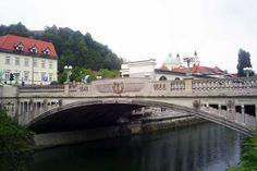 Die Drachenbrücke in Ljubljana