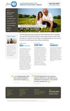 """Responsive design"" www.rexagreement.com"