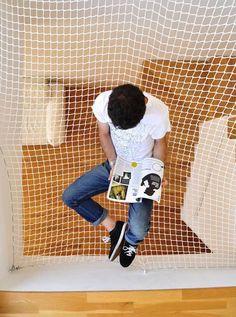 Kids Space / imagine a hammock room! so cool so even be a loft?