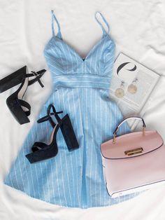 "Smooth Sailing Striped Dress #lovepriceless explore Pinterest""> #lovepriceless - #diy"
