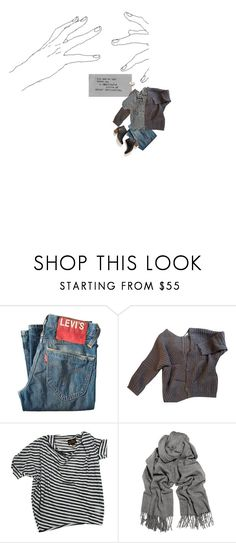 """""""Almost interactions"""" by soofir ❤ liked on Polyvore featuring Levi's, Maje, Vivienne Westwood, Acne Studios and Madewell"""